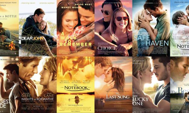Nicholas Sparks Film-Adaptations to Watch