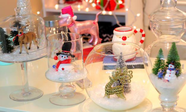 5 Homemade Christmas Decorations!