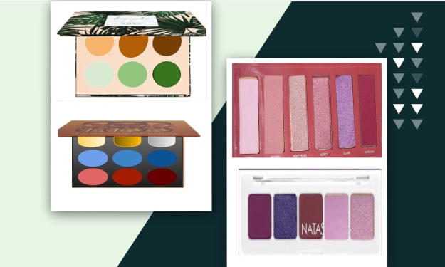 11 New Palettes and My Tift with Them