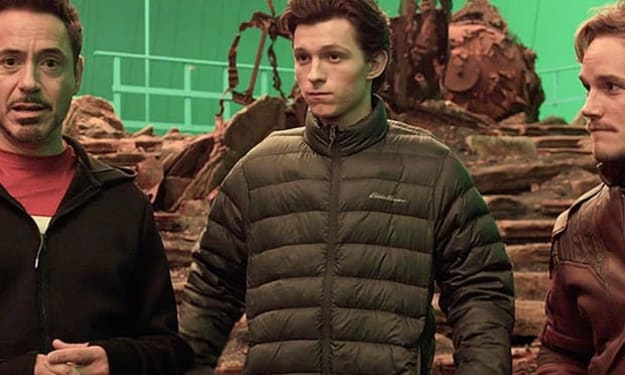 Is Tom Holland's Motion Capture Gear Teasing Space Suit for Spider-Man in Avengers: Infinity War?
