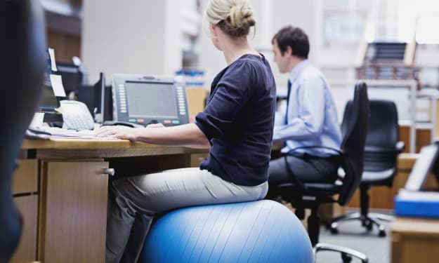 How To Burn More Calories at Work