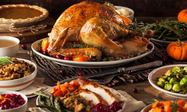 Thanksgiving Is Here