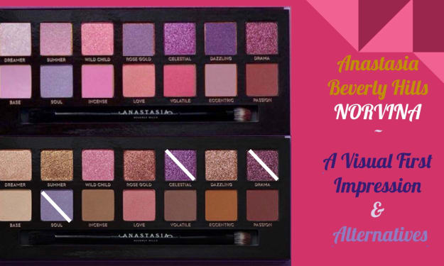 Alternatives and First Impressions for ABH Norvina