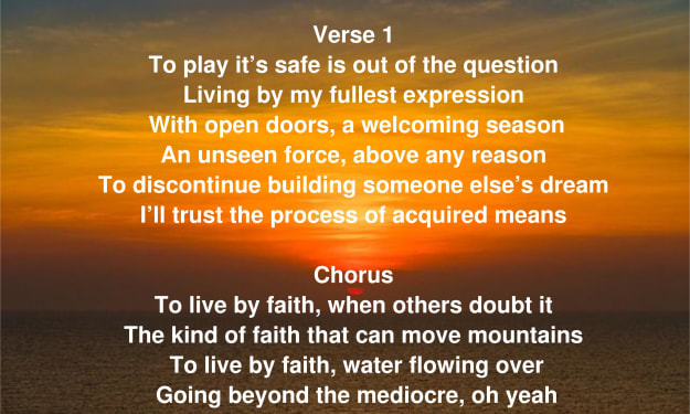 To Live By Faith