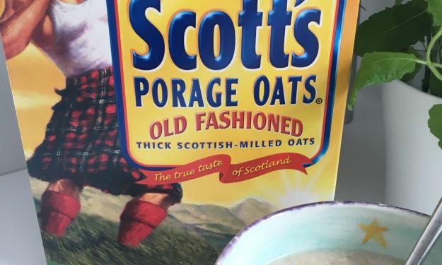 The Scott's Porage Oats Man and I