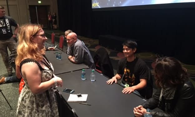 Quick Minute With Osric Chau and Erica Carroll