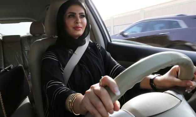 Woman Driving in Saudi Arabia Conflict