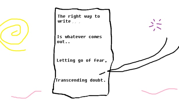 When in Doubt, Write it Out