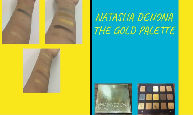 Natasha Denona: The Gold Palette