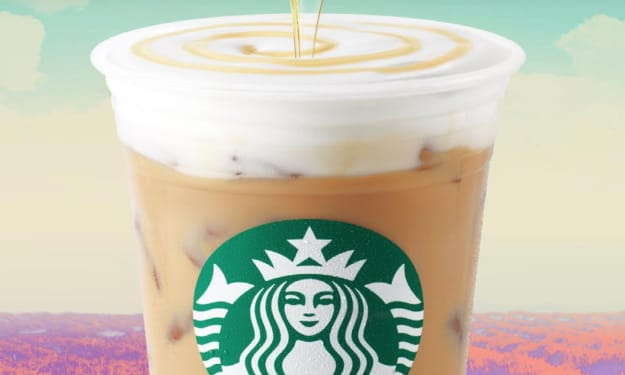 Starbucks' New Iced Honeycomb Lavender Latte Is Only Available in Canada