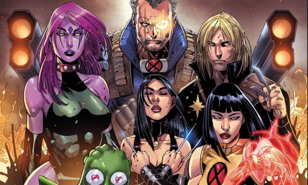 Time For An Upgrade: The New Mutants Get An All-New Line-Up 'Cable' #150