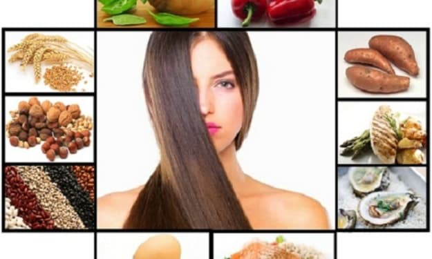 Eating Right = Healthier Hair!