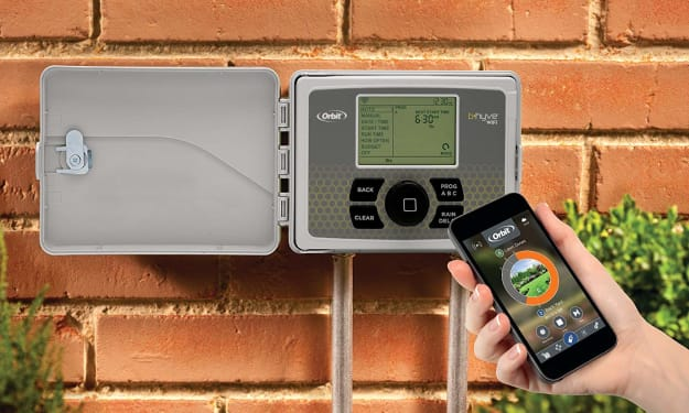 How Orbit's B-hyve Keeps Your Gardens & Lawn Perfect Even When You're Away