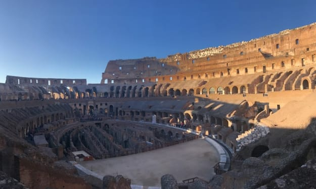 The Colosseum Was Cool But Cheese Is Better