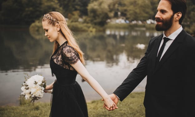 Black Wedding Dresses That You Won't Hate