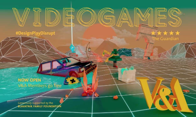 Videogames at the V&A Museum (#DesignPlayDisrupt): My Thoughts