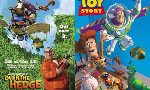 'Over the Hedge' = 'Toy Story' Rip Off?