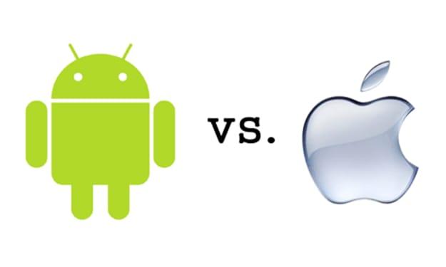 Google (Android) Vs. Apple (iOS)