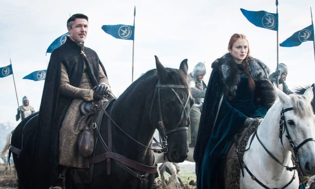 'Game of Thrones' Star Sophie Turner's Fiancé Looks Like Littlefinger and Twitter Is Going Crazy