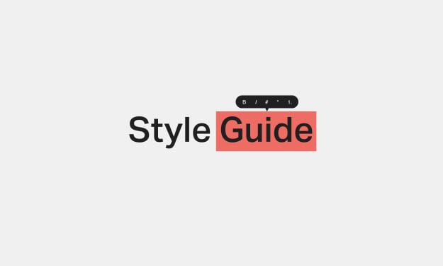 Beginner's Style Guide