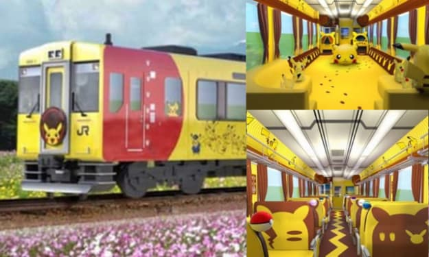 Chu Chu: All Aboard The Pika-Train! Which Is A Real, Actual Thing