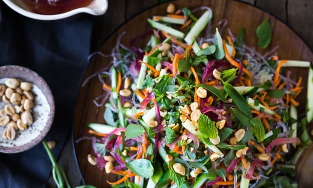 Fresh Asian-Inspired Vegetarian Salads and Slaws You'll Want All to Yourself
