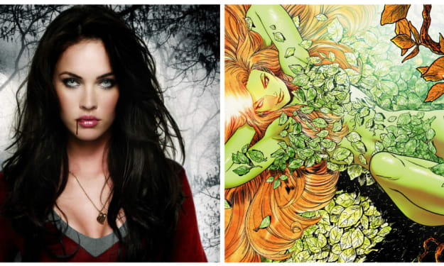 Green Queen: This Is What Megan Fox Would Look Like As Poison Ivy In 'Gotham City Sirens'!