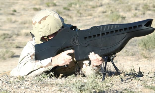 The Coolest Futuristic Guns That Actually Exist