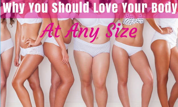 Learning To Love Yourself In A Size 4 Society