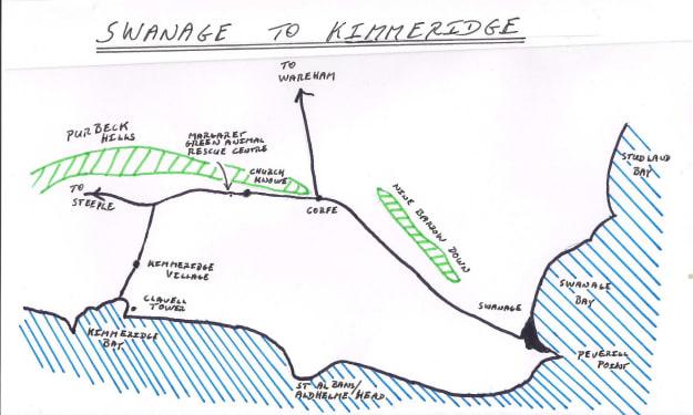 Swanage and Kimmeridge Bay