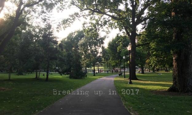 Breaking Up in 2017