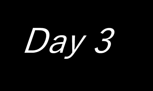 Day 3 Morning
