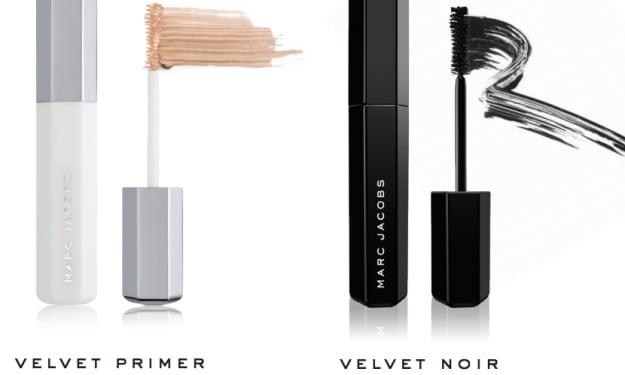 Marc Jacobs Velvet Primer & Velvet Noir Mascara Review