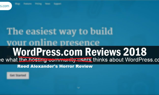 Reed Alexander's Review of 'WordPress.com'