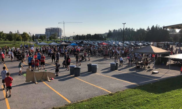 Ditching Smoking for Running at Newmarket's Terry Fox Run