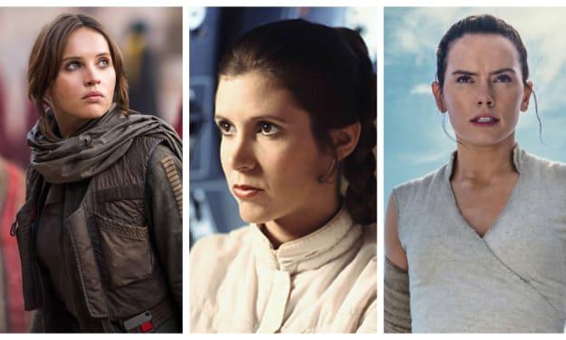 The Women of 'Star Wars'