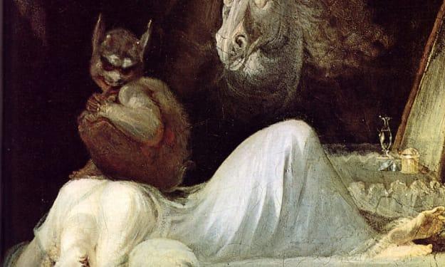 Bad Dream - Demon or Sleep Paralysis