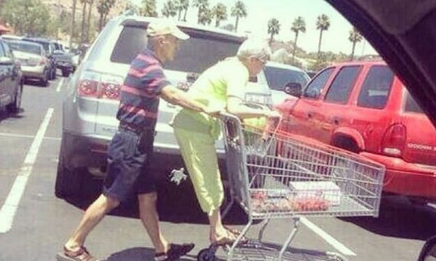 Don't Find Someone to Grow Old with