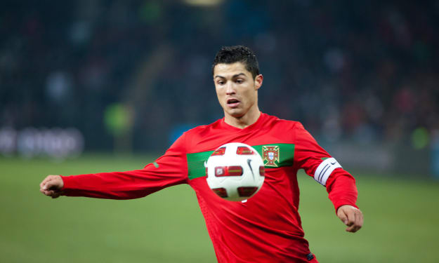 What is it with Cristiano Ronaldo?