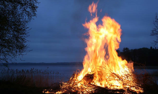 Chased Away by Fire