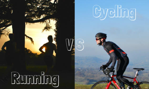 What Is Better for You? Cycling or Running