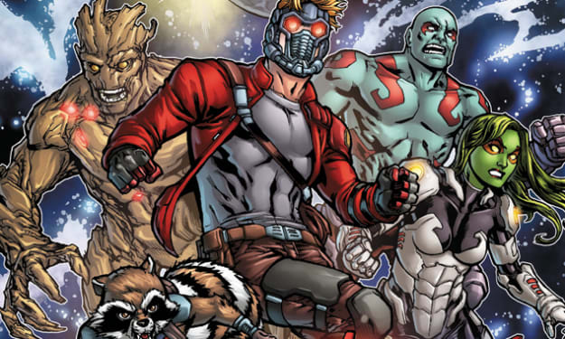 The Guardians of the Galaxy - Superheroes or Space Opera?