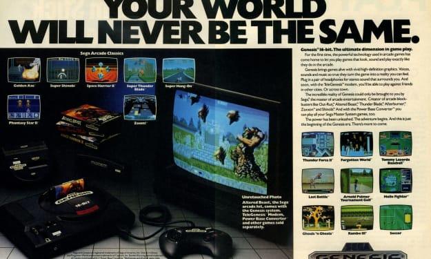Genesis Does What Nintendon't: Sega Genesis at 30