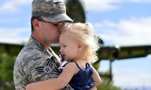 What it's Like Being the Daughter of a Military Parent