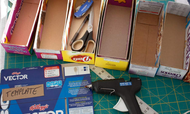 10 Ways You Can Reuse Cereal Boxes