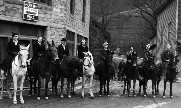 The Heroic Horseback Librarians of The Great Depression