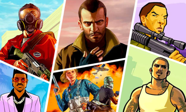 Best Ranked Grand Theft Auto Games
