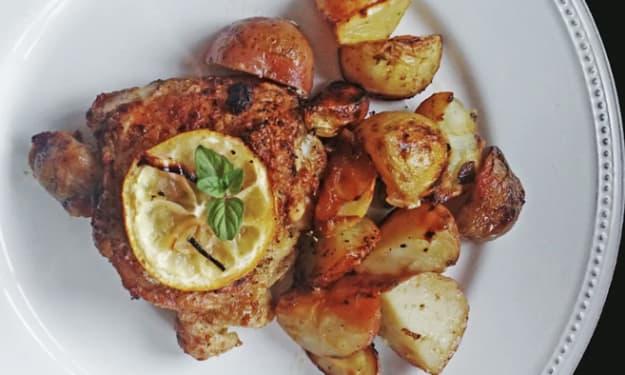 Gaddina Limuni Sicilianu (Sicilian Lemon Chicken)
