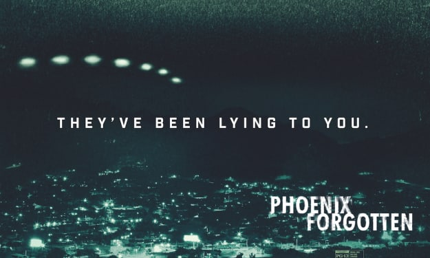 Behind The Mystery Of The Phoenix Lights With 'Phoenix Forgotten' Star Florence Hartigan