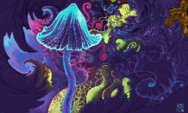 Eating Five-Year-Old Shrooms